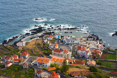 Landscapoe of porto moniz Royalty Free Stock Images