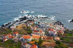 Landscapoe of porto moniz Royalty Free Stock Images