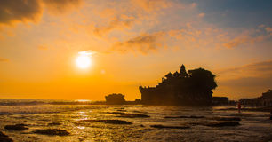 Landscaps. Shot taken at tanah lot temple Royalty Free Stock Photo