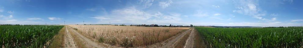 Landschaft 360° Lizenzfreies Stockbild
