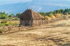 Landschaft in Äthiopien Lizenzfreie Stockfotografie