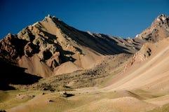 Landschaft in Aconcagua Lizenzfreie Stockfotos