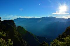 Landschaft in Alishan Taiwan Stockbilder