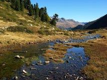 Landschaft Alpen Стоковое Изображение RF