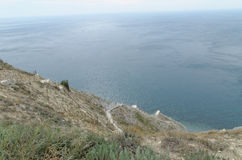 Landschaft in Anapa Lizenzfreies Stockbild