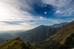landschaft Ansicht von kleinen Adams Spitze Sri Lanka Stockfotos