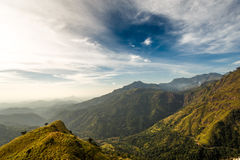 landschaft Ansicht von kleinen Adams Spitze Sri Lanka Stockbild