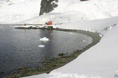 Landschaft in Antarktik Lizenzfreies Stockfoto