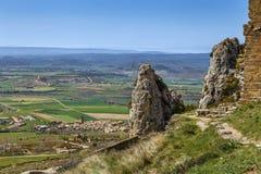 Landschaft in Aragonien, Spanien lizenzfreies stockfoto