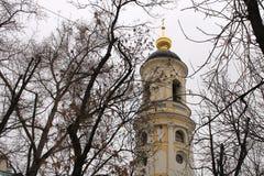 landschaft Architektur Kirche Russland Stockbilder