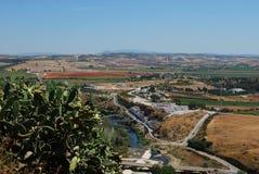 Landschaft, Arcosde-La Frontera, Spanien. Stockbilder