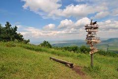 Landschaft auf den Berg Lizenzfreie Stockbilder
