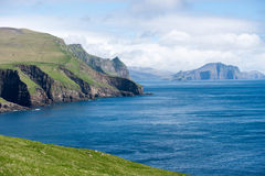 Landschaft auf den Färöern Stockfotografie