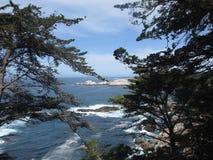 Landschaft auf der keiner Landstraße 1 in Kalifornien, USA lizenzfreies stockfoto