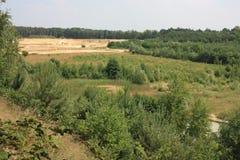 Landschaft auf Niederländisch Limburg Lizenzfreies Stockbild