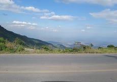 Landschaft auf Phu Thap Boek Stockbild