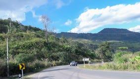 Landschaft auf Phu Thap Boek Lizenzfreie Stockfotografie