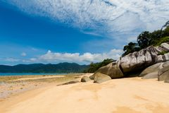 Landschaft auf Tioman-Insel Malaysia Lizenzfreie Stockfotografie