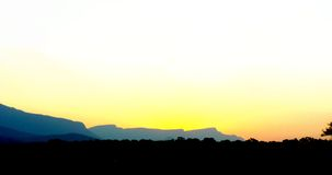 Landschaft-aunset Stockbilder