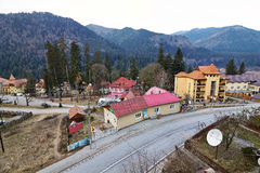 Landschaft Baile Tusnad, Rumänien Lizenzfreie Stockfotos