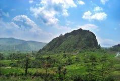 Landschaft in Bandung Lizenzfreie Stockbilder