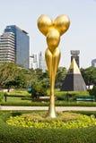 Landschaft in Bangkok Stockfotografie