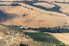 Landschaft in Basilicata (Italien) Lizenzfreies Stockbild