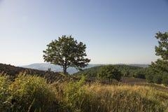 Landschaft Basilikata stockfoto