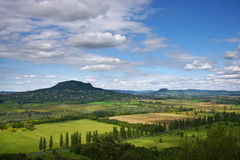 Landschaft bei Balaton Lizenzfreie Stockfotografie