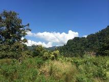 Landschaft bei Kanchanaburi Stockbilder