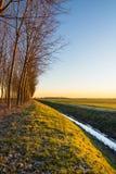 Landschaft bei Sonnenaufgang Lizenzfreies Stockbild