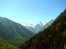 landschaft Berge und Täler lizenzfreie stockfotografie
