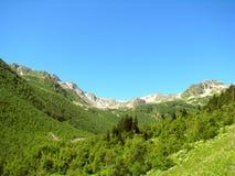 landschaft Berge und Täler stockbilder