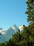 landschaft Berge und Täler lizenzfreies stockbild