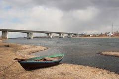 Landschaft, Brücke Lizenzfreie Stockfotografie