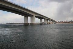 Landschaft, Brücke Lizenzfreie Stockfotos