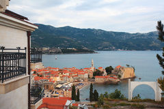 Landschaft Budva Montenegro Stockfoto
