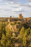 Landschaft Calatanazor, Soria, Spanien Lizenzfreie Stockbilder