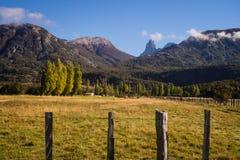 Landschaft in Cerro Castillo im chilenischen Patagonia lizenzfreies stockbild