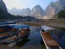 Landschaft China-Guilin Lizenzfreies Stockfoto