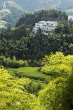 Landschaft Chinas Wenzhou - Gebirgslandschaft Stockbild