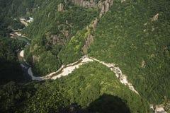 Landschaft Chinas Wenzhou - NanXiJiang-Fluss szenisch Lizenzfreie Stockbilder