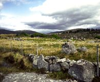 Landschaft in Connemara Stockfotos