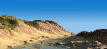 Landschaft 3d Stockbilder