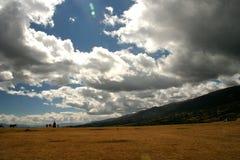 Landschaft in den Anden Lizenzfreies Stockbild