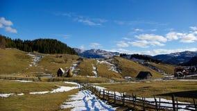 Landschaft in den Bergen Lizenzfreie Stockbilder