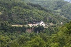 Landschaft in den Bergen Lizenzfreies Stockbild