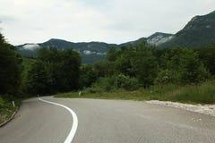 Landschaft in den Bergen Stockfoto