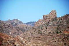 Landschaft in den Kanarischen Inseln Stockfotografie