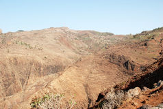 Landschaft in den Kanarischen Inseln Lizenzfreies Stockbild